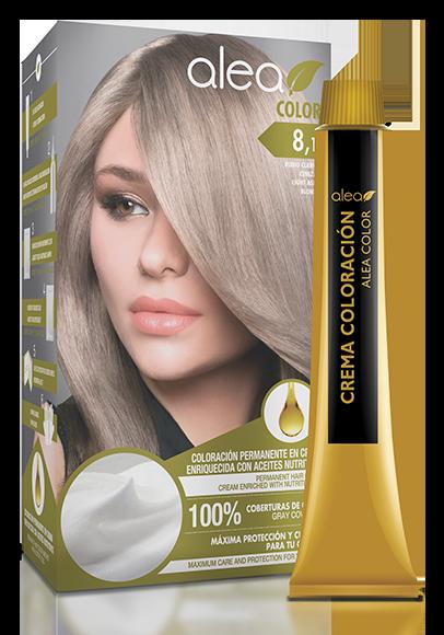 Vopsea De Par Cu Ulei De Argan Blond Deschis Cenusiu 81 Alea Color